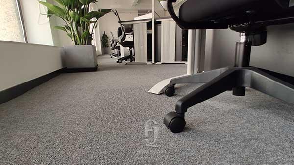 智慧芽上海分分部办公地毯案例