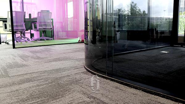 云璟玻璃(上海)有限公司地毯新铺案例